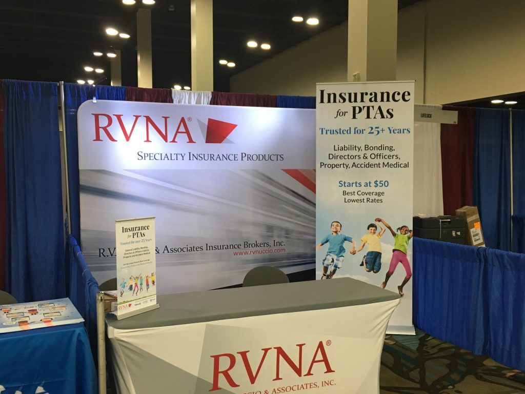 RVNA Booth At PTA Con 2016